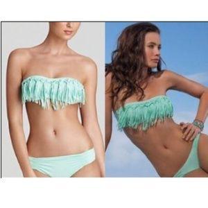 Victoria's Secret Dolly Knotted Strapless Bikini